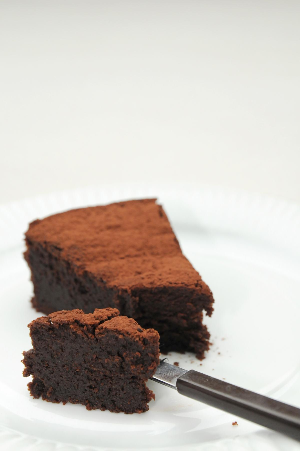 Chocolate Cake For Cm Tin