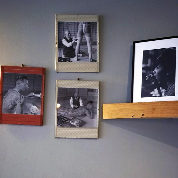 fotos au mur